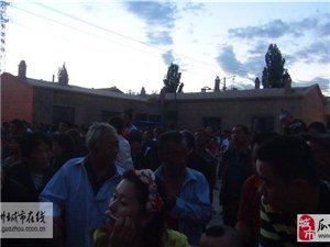 瓜州�l�`行�h的群�路�文化惠民系列活��
