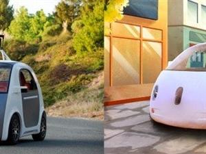 谷歌打造无刹车无方向盘的自动汽车