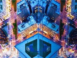 建筑摄影:对称之美的镜面之城