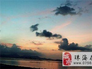 吉林大�W珠海�W院�|�T前的海岸�