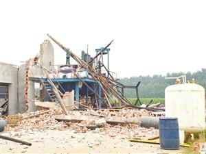 汉川一化工企业发生爆炸