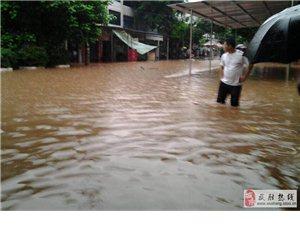 武胜7.11特大暴雨洪水灾害