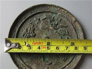 铜镜里的成语之二————————犀牛望月