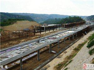 【美丽隰州】建设中的中南铁路隰县站