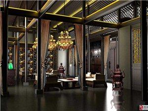 桐城古镇里的院子定位为高端品质的私人度假会所