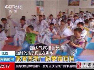 教育部已��_始在大力推�V跆拳道