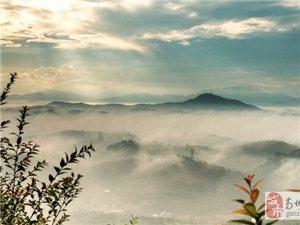 唯美的笔架山早晨美图