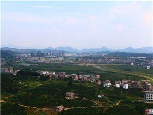 寻乌县城全景图[大油门拍摄]