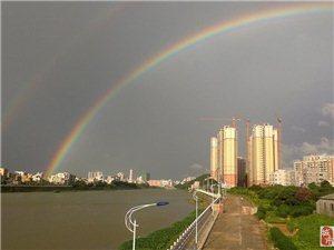 高州雨后的彩虹