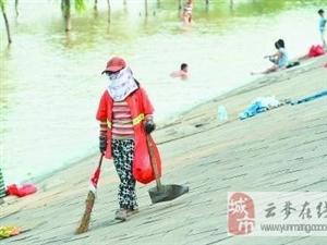 武汉部分地区气温冲上40℃ 高温津贴增至12元/天
