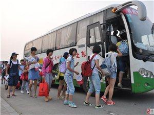 博兴在线小记者班到蓬莱长岛参加夏令营