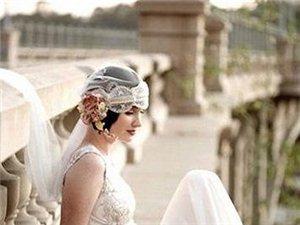 5款唯美短发新娘造型轻松搞定