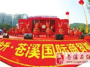 苍溪首席造富平台――中升・苍溪国际商贸城亮相