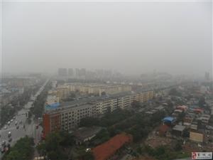 站在18层楼楼顶看美高梅官网