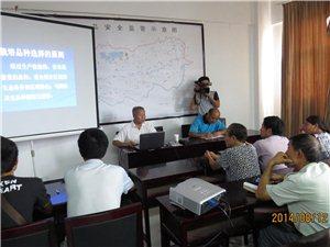 郑州果树研究所黄贞光研究员来我县指导大樱桃生产
