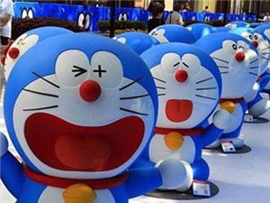 【蓝胖子来了】哆啦A梦展首次亮相迁西!