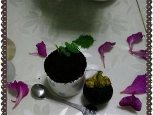 第一次做盆栽冰淇淋