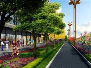 南岸蜀南大道景观改造由原双向8车道变4车道通行