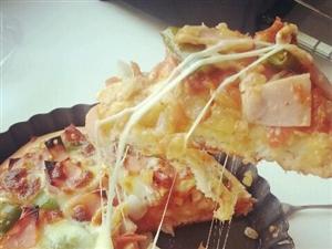 自制大披萨,有想吃的吗