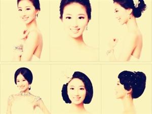 适合中国姑娘的新娘发型,收藏吧!