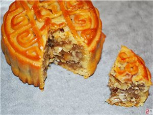 面包爵士月饼――美美的滋味