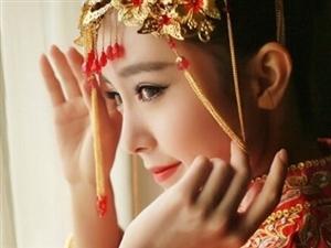 待嫁红妆,龙凤褂好美~~~