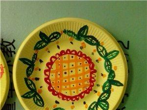 彩色的盘子