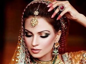 今天你是最美的新娘!印度新娘�y,太美了!