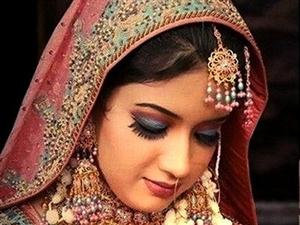 今天你是最美的新娘!印度新娘妆,太美了!