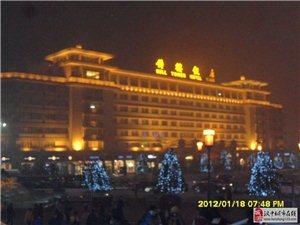 西安钟楼 夜景