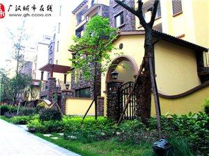 现场实拍――广汉城北新区,金领・格兰维亚小区实景图图哦