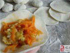 美食:素馅饺子馅的调制方法