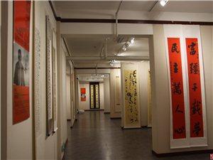 """""""向上向善""""辽宁省在全国获奖作者书法巡展在凌源举行"""