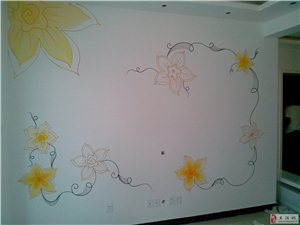 天安都市花园(南营房南边)手绘作品