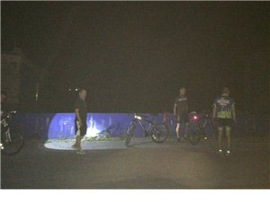 夜骑响水洞