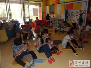 滨州新爱婴2014年六一儿童节亲子活动现场