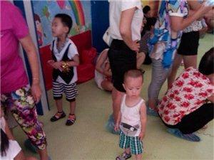 滨州新爱婴2014年三周年店庆活动现场