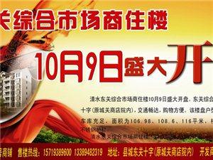 清水东关综合市场商住楼10月9日盛大开盘