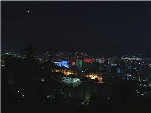 寻乌夜景(大油门拍摄)