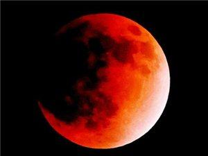 我国今晚可赏红月亮