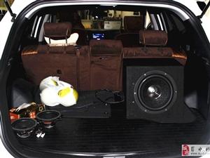 涪陵《巅峰改国际汽车改装》现代圣达菲改装影音系统