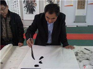 庆祝建国六十五周年书画作品展(手机拍照)