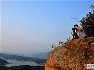 新县香山湖.