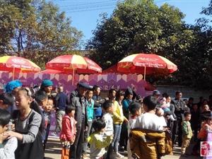 感谢杭州娃哈哈集团有限公司在盐源举行的(爱的微传递)大赠饮活动