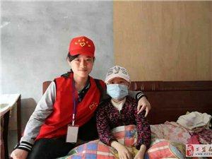 万盛阳光520志愿者服务队捐助白血病小女孩