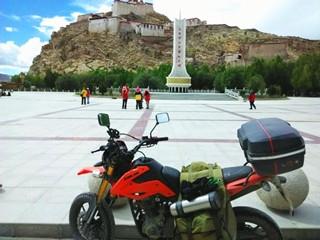 徽�h�S�L摩旅俱�凡炕湛h摩友�T行西藏行分享