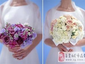 五种捧花和婚纱的搭配方法