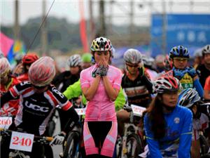 ManBetX网页自行车骑行协会环城和骑行玉蟾山1个半小时宣传骑行活动
