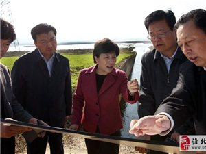 好事来了,调研华家湖治理工作,在给淮北人打造一个休闲去处!