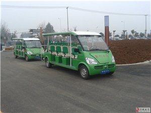 淮北南湖公园初建规模、游览车都有了!